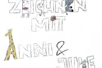 Zeichnen mit Annika und Jule (2)